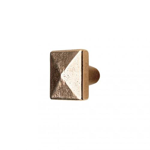 Square Knob - CK230 Silicon Bronze Medium