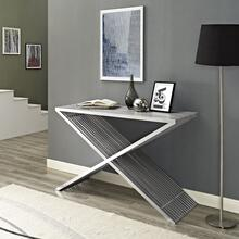 Press Console Table in Silver