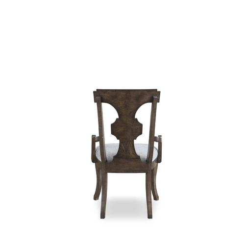 Landmark Splat Back Arm Chair