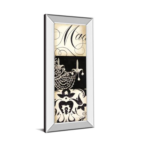 """Classy Art - """"Fifth And Madison IV"""" By Marco Fabiano Mirror Framed Print Wall Art"""