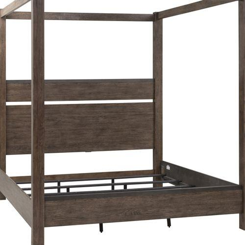 King Canopy Headboard & Footboard