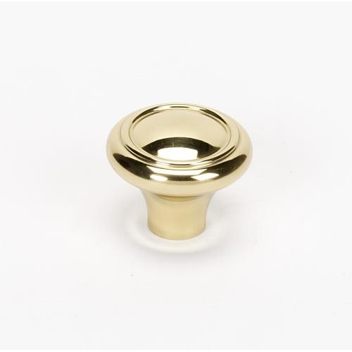 Classic Traditional Knob A1561 - Polished Brass