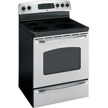 "GE® 30"" Free-Standing Electric Range (This is a Stock Photo, actual unit (s) appearance may contain cosmetic blemishes.  Please call store if you would like actual pictures).  This unit carries our 6 month warranty, MANUFACTURER WARRANTY and REBATE NOT VALID with this item. ISI 40314"