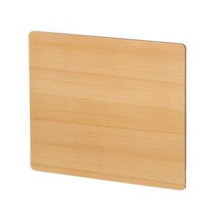 Aeri rectangular door for dual shelf aluminum structures. Product Image