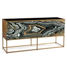 See Details - I Dream of Agate Four-Door Cabinet