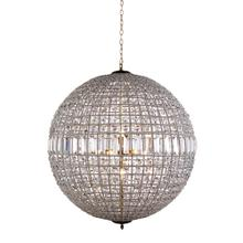 Olivia 8 light French Gold Chandelier Clear Royal Cut Crystal