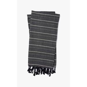 Gallery - T1038 MH Charcoal / Natural Throw