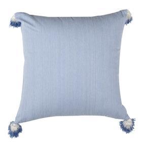 Sidney Pillow - Blue / White