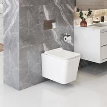 Product Image - White BAXTER Wallhung Toilet