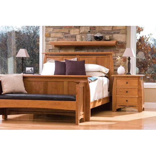 Gallery - Aspen Nightstand with Drawers and Inlay - Express