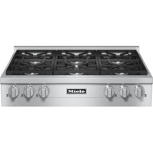 KMR 1134-1 G - RangeTop with 6 burners for professional applications