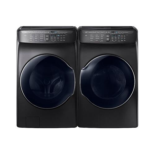 7.5 cu. ft. FlexDry™ Electric Dryer in Black Stainless Steel