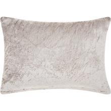 "Life Styles Cs018 Grey 14"" X 20"" Throw Pillow"