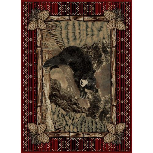 Lodge King Lazy Bear Multi