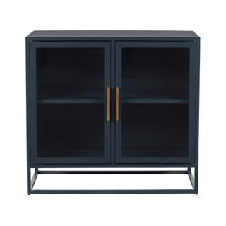 Santorini Short Metal Kitchen Cabinet