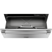 """See Details - 30"""" Pro Warming Drawer, Silver Stainless Steel"""