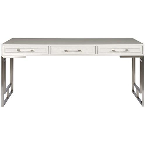 Berkley Desk with Metal Geometric Base HH07
