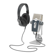 AKG Podcaster Essentials Audio Production Toolkit: AKG Lyra USB Microphone and AKG K371 Headphones