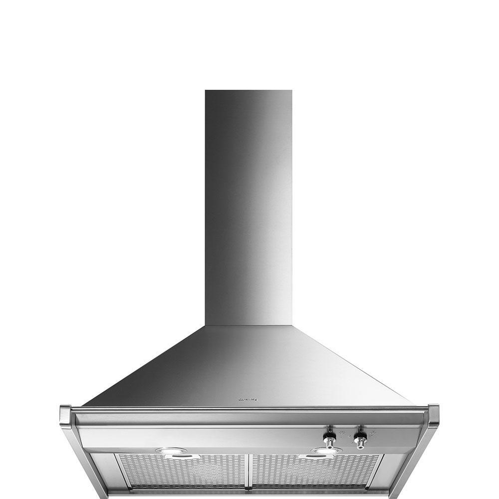 "Smeg76 Cm (Approx. 30""), Ventilation Hood, Stainless Steel"