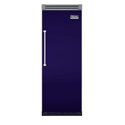 "Viking - Cobalt Blue 30"" Quiet Cool™ All Refrigerator - VIRB Tru-Flush™ (Right Hinge Door)"