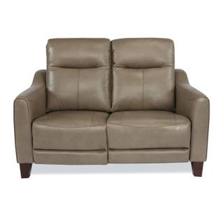 See Details - Forte Power Reclining Loveseat with Power Headrests