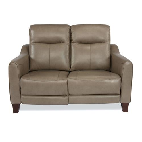 Gallery - Forte Power Reclining Loveseat with Power Headrests