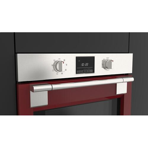 """30"""" Pro Single Oven - Glossy Red"""