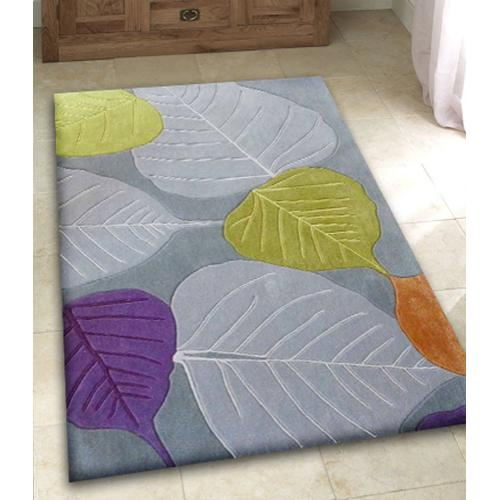 Durable Hand Tufted Transition TF2 Area Rug by Rug Factory Plus - 2' x 3' / Gray