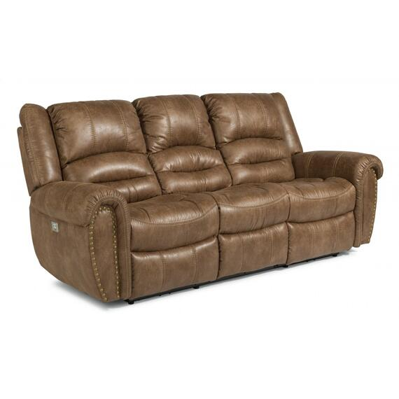Town Power Reclining Sofa with Power Headrests