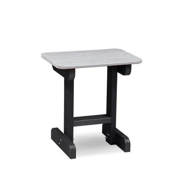 "See Details - RK Outdoor 24"" End Table, Light Grey & Black"
