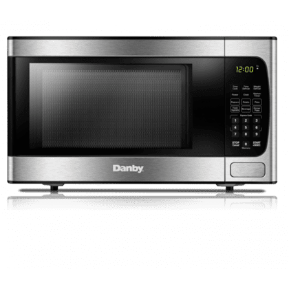 See Details - Danby 0.9 cuft Microwave with Stainless Steel front
