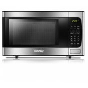 Danby 0.9 cu ft. Stainless Steel Microwave with Convenience Cooking Controls