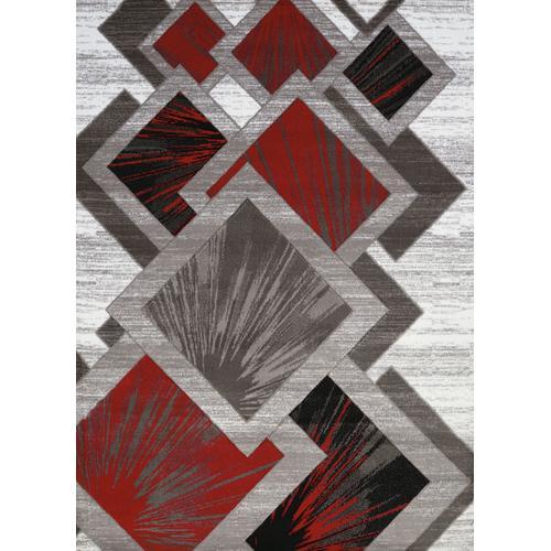 United Weavers of America - Medium - Studio Scarlet 5x8 Rug
