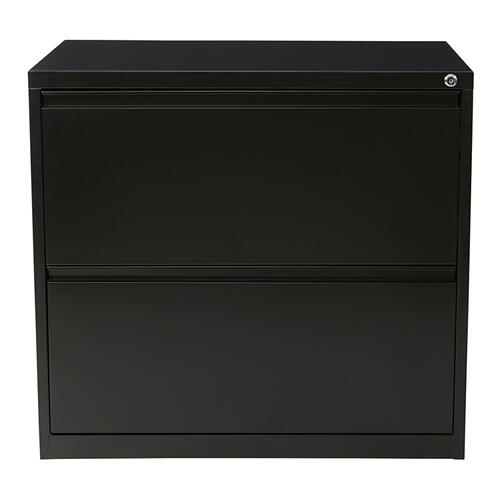 "30"" Wide 2 Drawer Lateral File With Core-removeable Lock & Adjustable Glides"