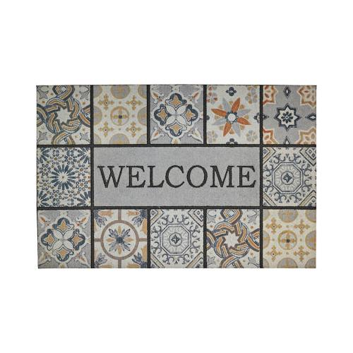 Mohawk - Welcome In Tiles, Patina Tiles Gray- Rectangle