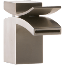Quarto Lav Faucet Front Flow Brushed Nickel