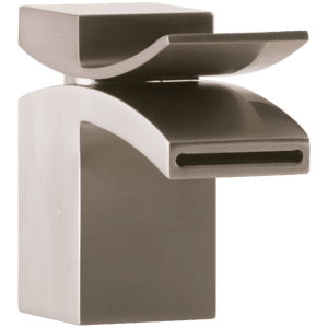 Quarto Lav Faucet Front Flow Brushed Nickel Product Image