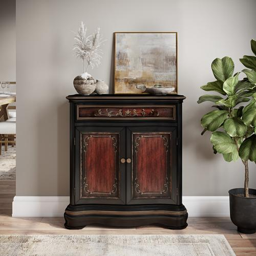 Accentrics Home - Two Toned Hand Pained Hall Chest