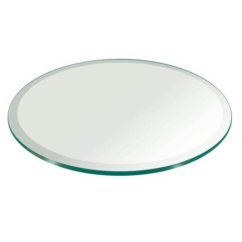 "24"" Round Glass Top"