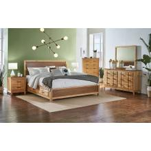 QN PANEL STORAGE BED