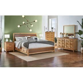 QN PANEL STORAGE BED