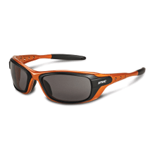 Protective glasses featuring hollow frames for a lightweight feel.