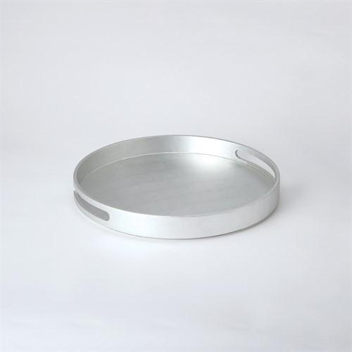 Nouveau Luxe Tray-Silver Leaf-Lg