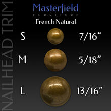 French Natural Nail Head Trim