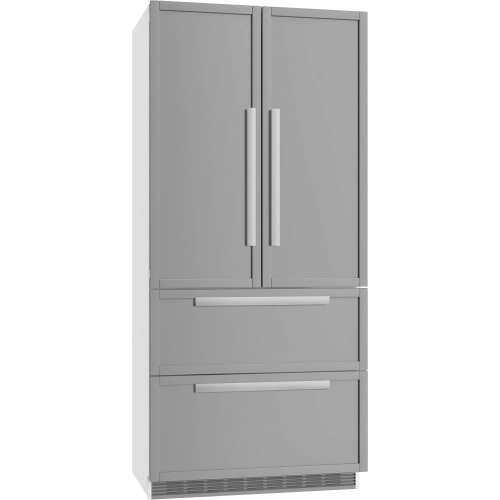 Product Image - KFNF 9955 iDE - FrenchDoor Bottom-mount Units maximum convenience thanks to generous large capacity and ice maker.