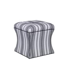 See Details - Hourglass Ottoman (Fabric)