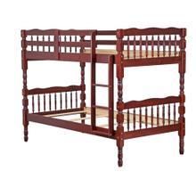 Arlington Twin/Twin Bunk Bed, Mahogany