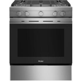 """30"""" Smart Slide-In Gas Range with Convection"""