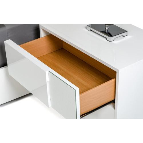 Modrest Ancona Italian Modern White Bedroom Set