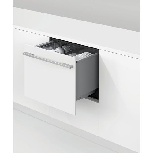 Fisher & Paykel - Integrated Single DishDrawer™ Dishwasher, Tall, Sanitize